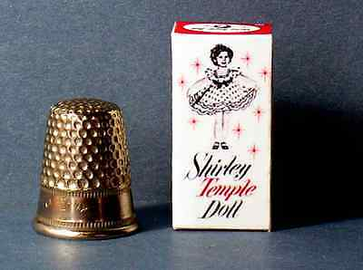 Dollhouse Miniature 1:12 Shirley Temple Doll Box 1950s dollhouse girl nursery