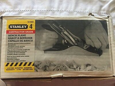STANLEY 12-904 Contractor Grade Bench Plane Made in USA