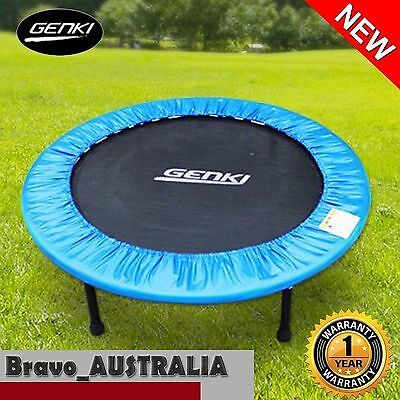 "Sport Trampoline - Small 40"" Fitness Trampoline with Safety Padding Cover"