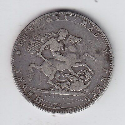 Great Britain, 1820 George III Crown Silver Coin