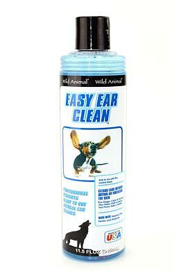 Wild Animal Easy Ear Clean 11.5 oz. - Dog Ear Cleaner-Cat/Pet Ear Cleaner