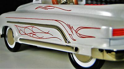 Mercury Pedal Car 49 1950 51 Merc Chopped Custom Hot Rod Rare Midget Metal Model