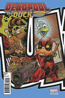 DEADPOOL THE DUCK #2 - Connecting Variant - NM - Marvel Comics - Presale 01/18