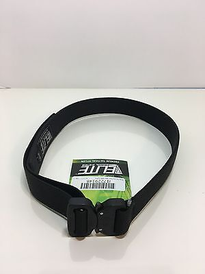 """Elite CO Shooters Belt with Cobra Buckle, 1.5"""" Small"""