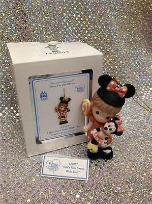 Precious Moments Disney Parks Life's Sure Sweet With You Mickey Ears Minnie Doll