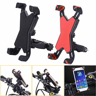 360° Universal Motorcycle Bike Bicycle Handlebar Mount Holder For Cell Phone GPS