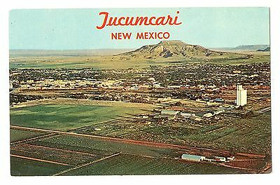 Old Town View Tucumcari New Mexico Older Travel Postcard