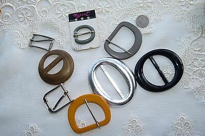 Jewellery  Group Of 9 Mixed Vintage Buckles 230
