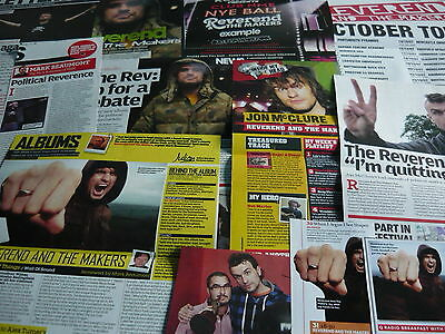 Reverend And The Makers - Magazine Cuttings Collection (Ref X)