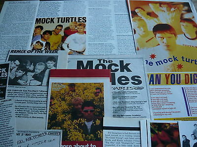 The Mock Turtles - Magazine Cuttings Collection (Ref Z18)