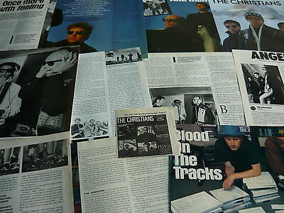 The Christians - Magazine Cuttings Collection (Ref Xd)