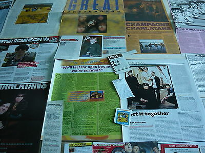 The Charlatans - Magazine Cuttings Collection (Ref S3)