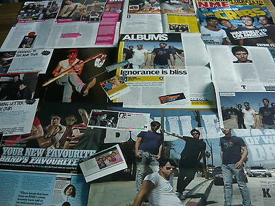 The Cribs - Magazine Cuttings Collection (Ref S3A)