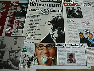 The Housemartins - Cuttings/clippings Collection (Ref Z6)