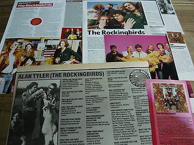 The Rockingbirds - Magazine Cuttings Collection (Ref X)