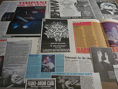 The Drum Club - Magazine Cuttings Collection (Ref T5)