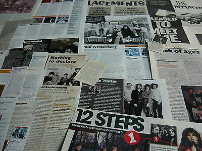 The Replacements - Magazine Cuttings Collection (Ref X)