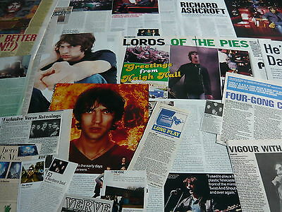The Verve - Magazine Cuttings Collection (Ref R7)