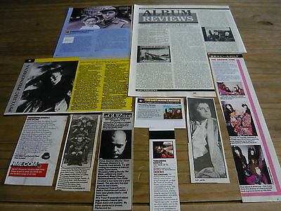Throbbing Gristle/related - Magazine Cuttings Collection (Ref 3B)