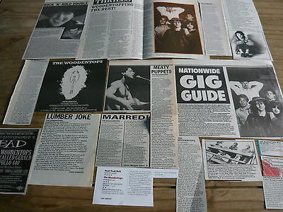 The Woodentops - Magazine Cuttings Collection (Ref T8)
