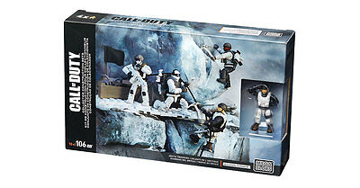 Call of duty Mega bloks Collector Construction Arctic Troopers