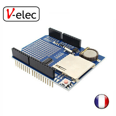 Data Logger Module Logging Recorder Shield V1.0 for Arduino UNO SD Card