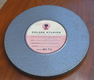 Promotional 16mm Film - 1962 Seahorse Spectacular - Johnson Outboard Motors