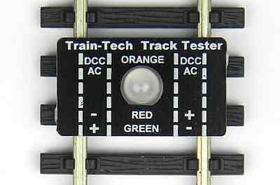 Track Tester Train Tech OO / HO / TT / N Indicates DCC, DC polarity or fault TT1