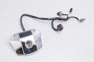 05 Harley Dyna Low FXDL Dash Indicator Lights & Headlight Chrome Cover