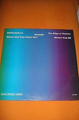 Wham - Music From The Edge Of Heaven - Mini L.p.