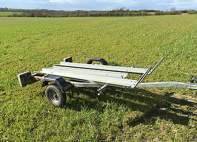 2 Bike Motorbike/Motorcycle Trailer two twin FOR HIRE & Bikes Delivery