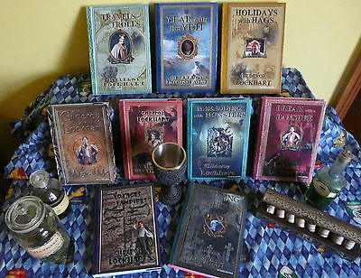 Harry Potter - Gilderoy Lockhart  NOTEBOOK & Dust Jacket Bundle/Job Lot