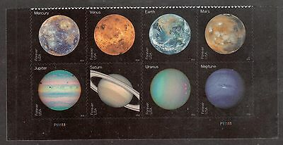 Scott #5069-76 Used Se-tenant Block of 8, Views of Our Planets