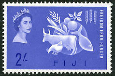 Fiji 198 MNH - Freedom From Hunger
