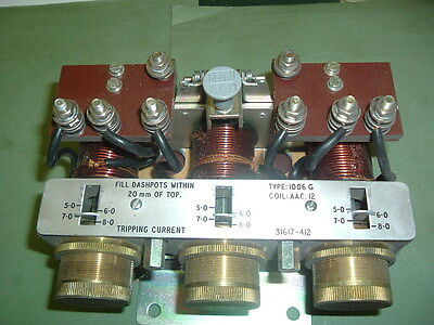Cutler Hammer 82400H 210 Tp Ac....... Magnetic Overload Relay 1006G New Packaged