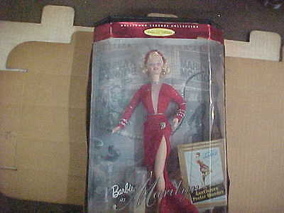 BARBIE as MARILYN MONROE   HOLLYWOOD LEGENDS COLLECTION
