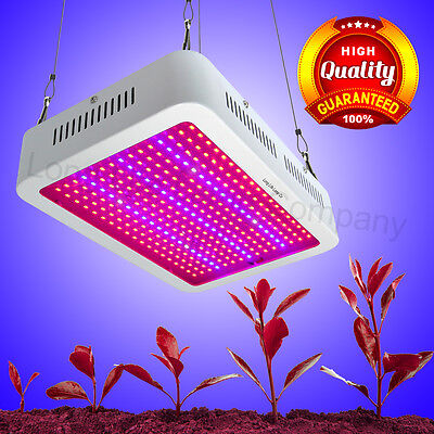 600 LED Grow Light Full Spectrum for Indoor Hydro Grow Panel TRUE 292W LED Lamp
