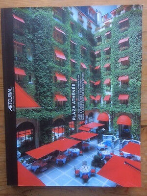 catalogue vente enchères auction Hotel Plaza Athenee Artcurial 7 oct 2013 PARIS