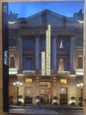 catalogue vente enchères auction Hotel Le Crillon Artcurial 18-22/04/2013 PARIS