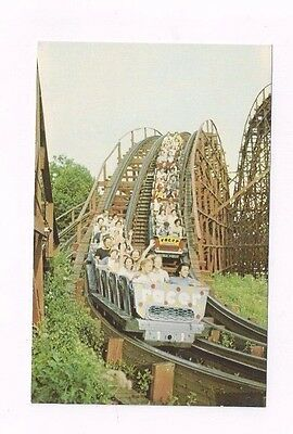 PA Pittsburgh Pennsylvania Kennywood Amusement Park Racer Roller Coaster