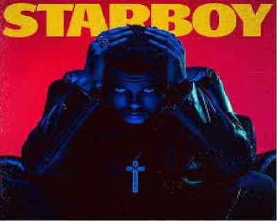 The Weeknd - Starboy Double Vinyl Lp New/ Mint (10Th Feb)