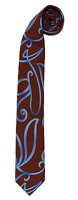 Dr Doctor Who Adult Costume Tenth 10th Doctor Swirly Necktie Tie Official Elope