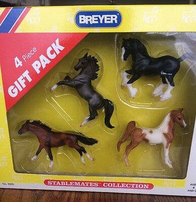 Breyer 4 Piece Gift Pack Stablemates Collection No. 5995