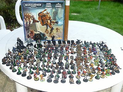 Large Collection Of Warhammer Figures And Others  &  Parts