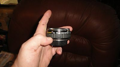 Kalimar 2X Tele Converter M/MD for MINOLTA Camera Lens