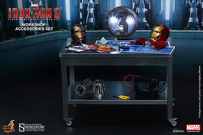 Hot Toys ACS 002 Iron Man Workshop Accessories Set Neu&OVP RARE*TOP* 1/6 scale