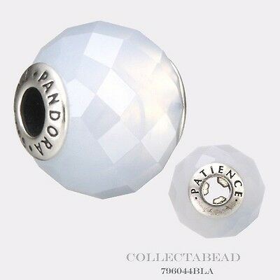 Authentic Pandora Essence Collection Sterling Silver Patience Bead 796044BLA