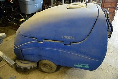 Clarke Encore 33 S Floor Scrubber Walk Behind 1437 Hours