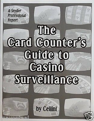 The Card Counter's Guide to Casino Surveillance by Cellini new