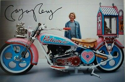 Grayson Perry Signed 12x8 Photo -  Art Turner Prize